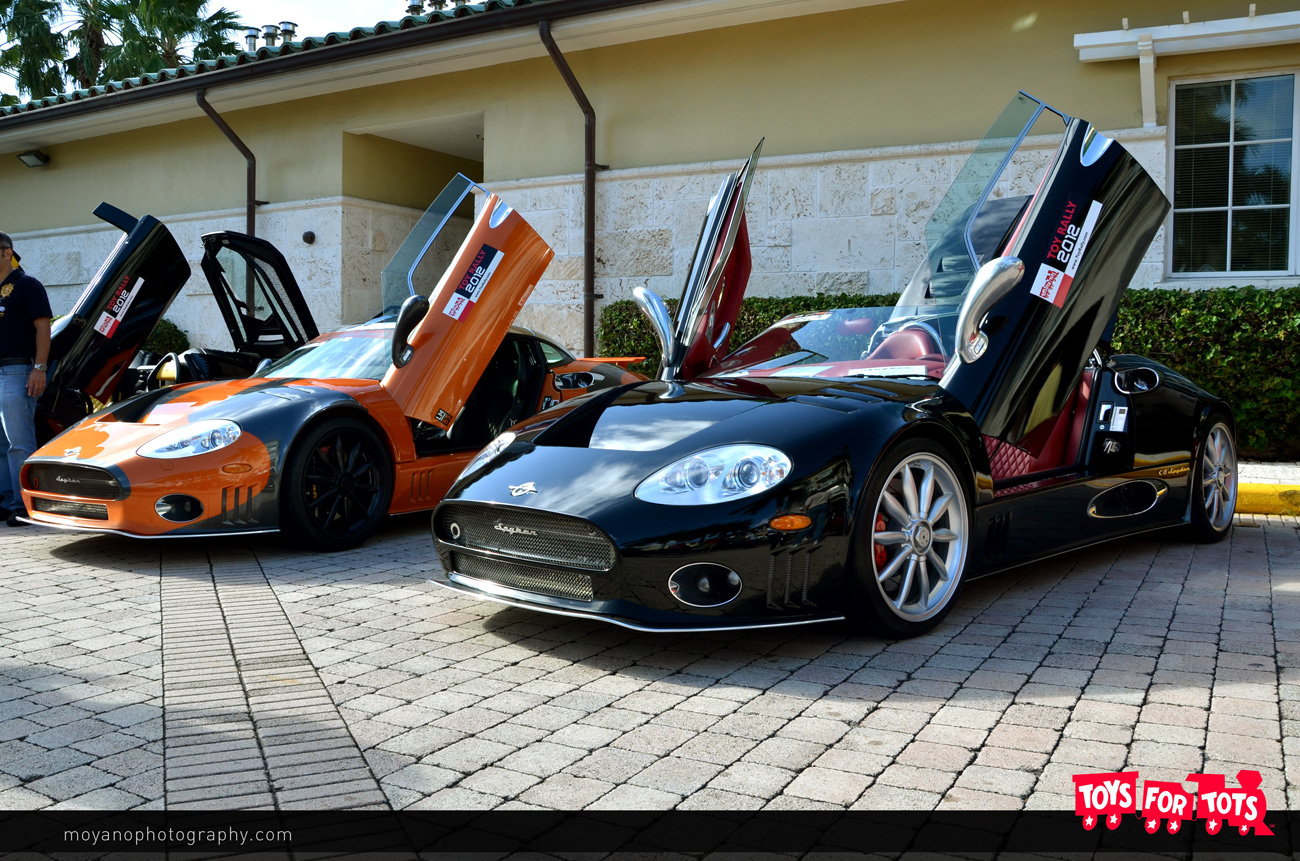 Toys For Tots 2012 : South florida exotic car quot toy rally toys for tots